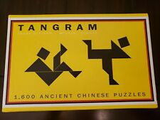 TANGRAM 1600 Ancient Chinese Puzzles by Michael Schuyt & Joost Elffers *NEW*