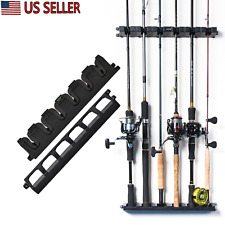 Fishing Rod Reel Combo Rack Storage Organizer Spinning Wall Hanger Holder Stand