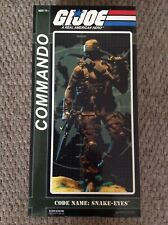 GI Joe Commando Snake Eyes 1/6 Scale sideshow Collectibles