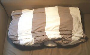 Beddy's Bedding TWIN Zip-Up Game On Gray - Minky - (Pre-Owned)