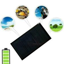 1W//5.5V Portable Solar Charger With Alligator Clip Compact Solar Panel For Y5H3
