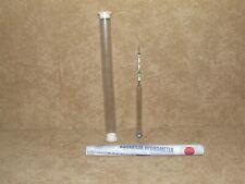 Peces tanque acuario marino agua salinidad Probador Medidor Hidrómetro Therm AGP