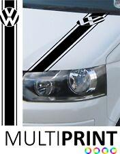 VW Transporter Camper Van Caravelle Stripe Graphic Bonnet Sticker T4 T5 VW6