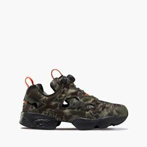 Reebok Unisex Instapump Fury OG MU Camo Sneaker DV6962 Army Green/Grey/Earth