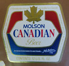 VINTAGE CANADIAN BEER LABEL - MOLSON BREWERY, CANADIAN BEER 12 FL OZ