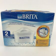 BRITA MAXTRA Water Filter Cartridges - Pack of 2 - In Box