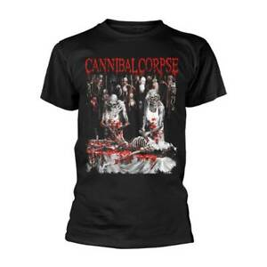 Cannibal Corpse 'Butchered At Birth Explicit' Black T shirt - NEW
