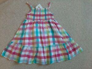Girls Dress Summer 100%cotton Age 5-6