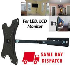 LCD LED TV WALL BRACKET MOUNT CORNER PLASMA TILT SWIVEL 26 28 32 40 42 inch UK
