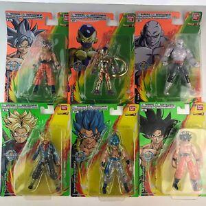 "Bandai Dragon Ball Super Evolve Super Saiyan 5"" Action Figures Goku Gogeta Jiren"