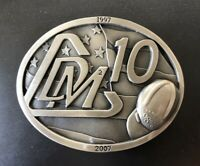 DMC Oilfield 10 Year Safety Commemorative Belt Buckle