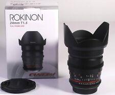 Rokinon Cine DS 24mm T1.5 Cine Lens for Canon EF