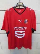 Maillot porté RENNES Stock Pro Stade Rennais shirt PUMA XL double couche