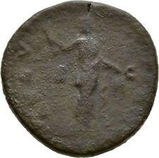 Ancient Rome AD 138- 141 Faustina Senior.Large AE sestertius CERES