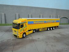 "Herpa-Mercedes-Benz actros bigspace visillos planear-remolcarse ""wohlwend"""