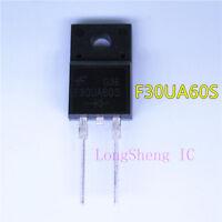 5pcs F30UA60S F30U60ST F30U60S TO-220 Fast recovery rectifier tube new