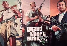 GRAND THEFT AUTO V 5 MICHAEL GTA XBOX PS3 PS4 GAME A4 PICTURE PRINT A4 WALL ART