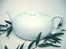 San Francisco Herb & Natural Food Co. White Teapot New