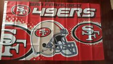 San Francisco 49ers 3x5 Flag. US seller. Free shipping within the US!!!