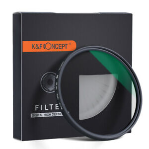 K&F Concept CPL 37-62-82mm Len Filter Circular Polarizer Slim Green Multi-Coated