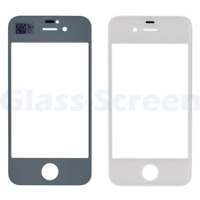 iPhone 4G GSM & CDMA Front Screen Glass Lens Black White