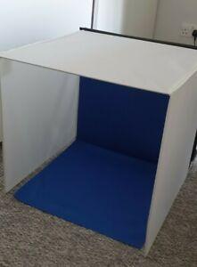 Portable Photo Lighting Studio Cube 40cm x 40cm x 40cm - Folds up flat