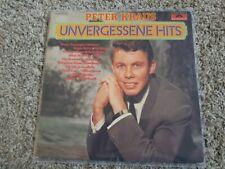 Peter Kraus - Unvergessene Hits/ Best of Vinyl LP