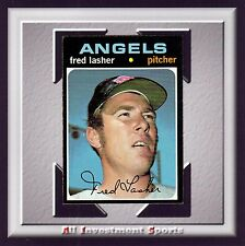 1971 Topps FRED LASHER #707 NM *fabulous card for your set* M50C