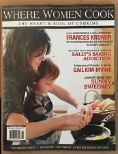 Where Women Cook Frances Kroner Sunny Sweeney Mar-May 2015 FREE SHIPPING!
