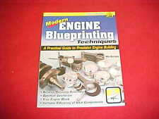 MODERN ENGINE BLUEPRINTING PISTON RODS PRECISION BUILDING REBUILD BOOK MAVRIGIAN