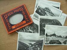 SNAP SHOT SOUVENIR ALBUM 12 REAL PHOTOGRAPH VIEWS JERSEY CHANNEL ISLANDS