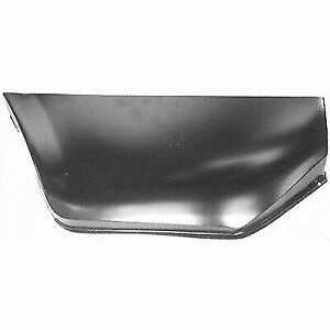 Ford Mustang 1965 1966 Driver Side Lower Quarter Panel Patch Rear Section