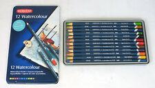 Set 12 Derwent Watercolor Colored Pencils
