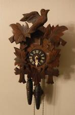 Vintage German Hand Carved Wooden Black Forest Cuckoo Clock