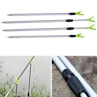 Fishing Rod Stand Support Bracket Rest Ground Holder Adjustable Pole Fish Tools