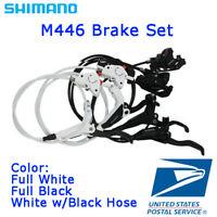 New Shimano BR-BL-M446 M447 Hydraulic Disc Brake Lever Set MTB Front/Rear