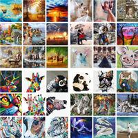 Malen nach Zahlen für Erwachsene 40x50 cm DIY Öl Zeichnen 157 Motive zur Auswahl
