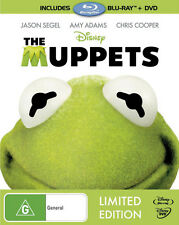 The Muppets - Big W Exclusive / Blu-ray + DVD with rare Slipcover