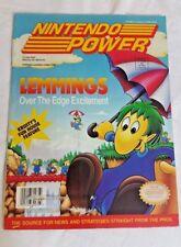 Nintendo Power, Vol. 37, June 1992, Lemmings - over the edge excitement