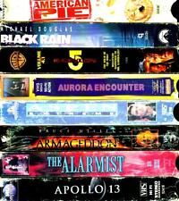 VHS Videotapes 8 Pack - B: Romance,Drama,Comedy, Action
