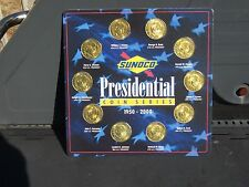 Sunoco Gas and Oil Presidential Coins Complete Set      FREE US Shipping