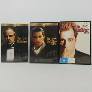 The Godfather Part 1, 2, 3 DVD Bundle Region 4 Trusted AUS Seller Free Shipping