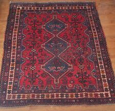5' x 6' Vintage Kazak Persian Oriental Wool Hand Knotted Area Squares Rug