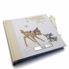 "Personalised Disney Baby Photo Album Bambi Boxed New 4x6"" DI280-P"