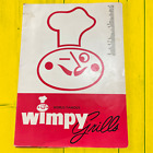Vintage 1961 World Famous Wimpy Grills Full + Breakfast & Lunch Menu Burger