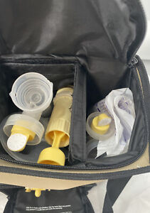 Medela Pump in Style Advanced Personal Double Breastpump Motor Carry Case & More