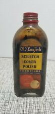 VINTAGE OLD ENGLISH SCRATCH COVER POLISH BOTTLE