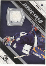 2005/6 Upper Deck Game Jersey card Ty Conklin 2 color Oilers