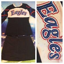 Crystals 💎Real Cheerleading Uniform Eagles Adult L