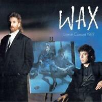 Wax - Wax Live In Concert 1987 (NEW 2CD+DVD)